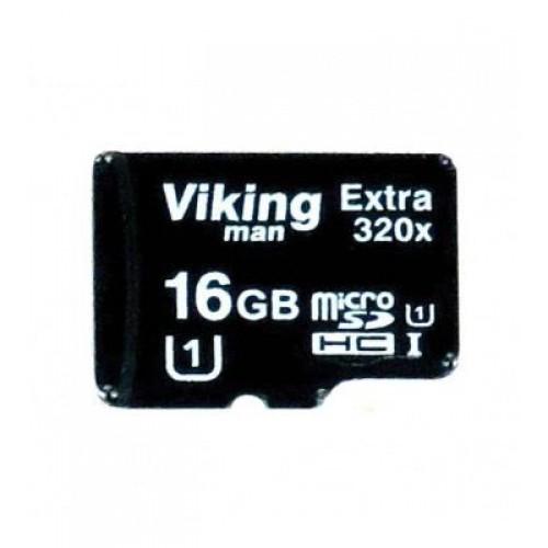 کارت حافظه میکرو اس دی 16 گیگابایت VikingMan Extra 320x UHS-l U1
