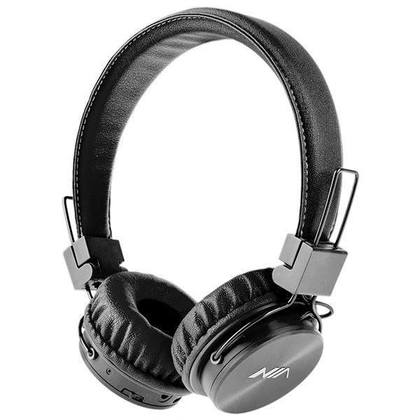 هدفون بلوتوثی و رم خور نیا NIA X3 4 in 1 Bluetooth Stereo Headset