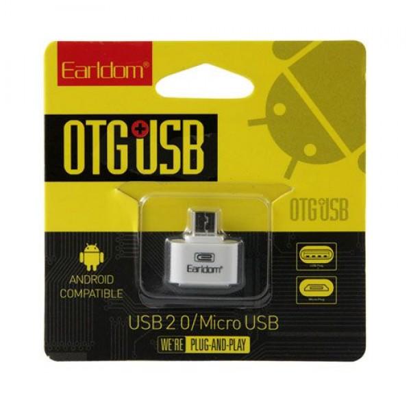 رابط هوشمند پلاستیکی Earldom OTG Micro USB