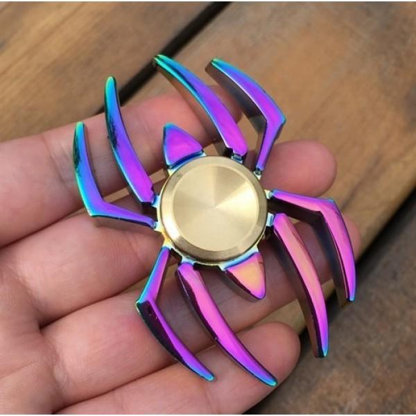 اسپینر فلزی طرح عنکبوت Fidget Spinner Spider