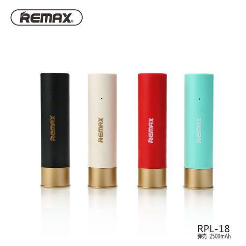 پاوربانک 2500 میلی آمپر ریمکس مدل Remax Shell RPL-18