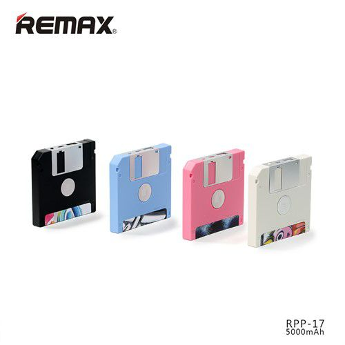 پاوربانک 5000 میلی آمپر ریمکس Remax Floppy RPP-17