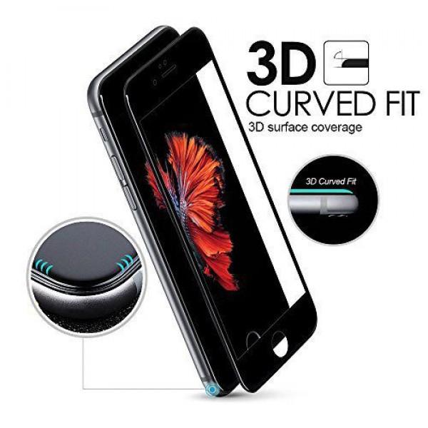 محافظ صفحه نمایش شیشه ای 3D مناسب Apple iPhone 7