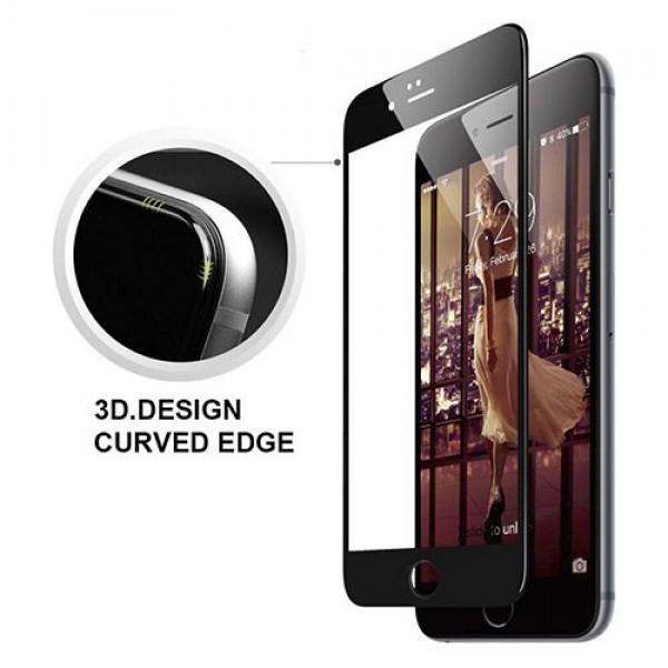 محافظ صفحه نمایش شیشه ای 3D مناسب Apple iPhone 7 Plus