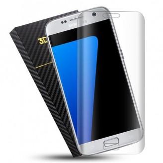 محافظ صفحه نمایش شیشه ای 3D و خمیده مارک V-Like مناسب S7 Edge