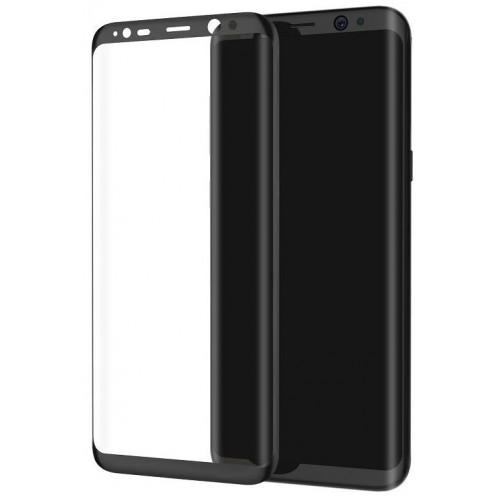 محافظ صفحه نمایش شیشه ای 3D و خمیده مارک V-Like مناسب Samsung S8