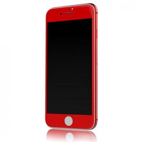 محافظ صفحه نمایش شیشه ای رنگی مارک V-Like مناسب Apple iPhone 7