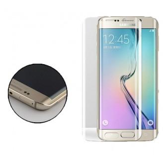 محافظ صفحه نمایش شیشه ای 3D و خمیده Samsung Galaxy S6 Edge
