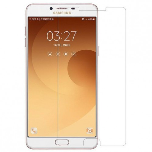 محافظ صفحه نمایش شیشه ای Samsung Galaxy C9 Pro