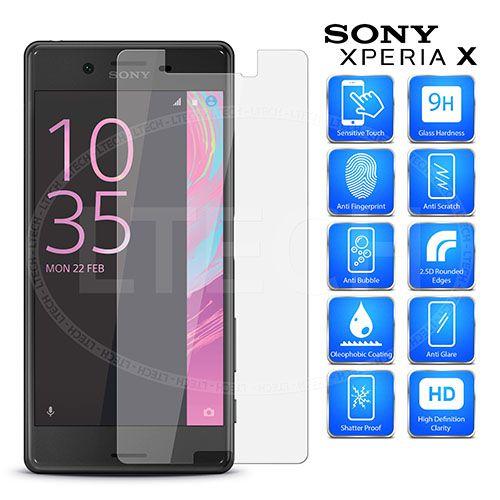 محافظ صفحه نمایش شیشه ای Sony Xperia X