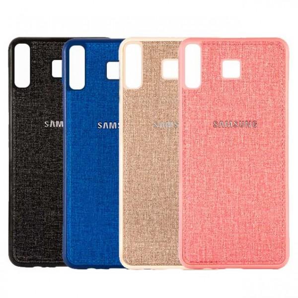 قاب طرح پارچه ای مناسب سامسونگ Samsung Galaxy A9 Star / A8 Star