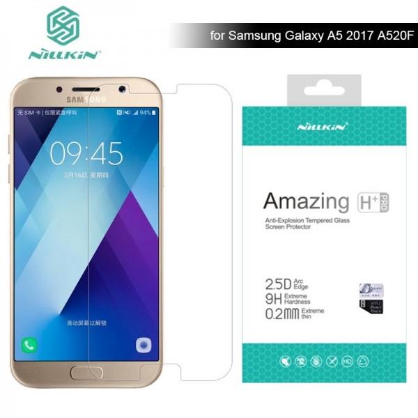 محافظ صفحه نمایش شیشه ای نیلکین H+ Pro Glass Samsung Galaxy A5 2017 / A520