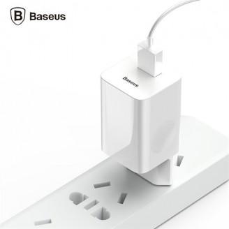 شارژر دیواری تک پورت Qualcomm 3.0 بیسوس Baseus Wireless Quick Charger مناسب شارژ سریع شارژ وایرلس