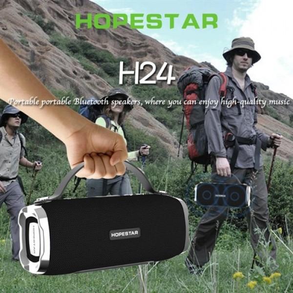 اسپیکر بلوتوث ضد آب و پاوربانک هاپ استار Hopestar H24 Bluetooth Speaker
