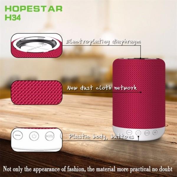 اسپیکر بلوتوث ضد آب و پاوربانک هاپ استار Hopestar H34 Bluetooth Speaker