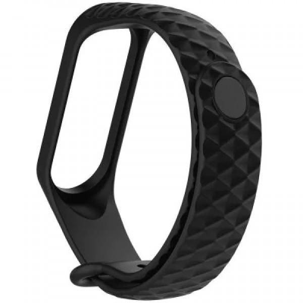 بند سیلیکونی طرح دار دستبند هوشمند شیائومی Mi Band 3 / Mi Band 4 Silicone