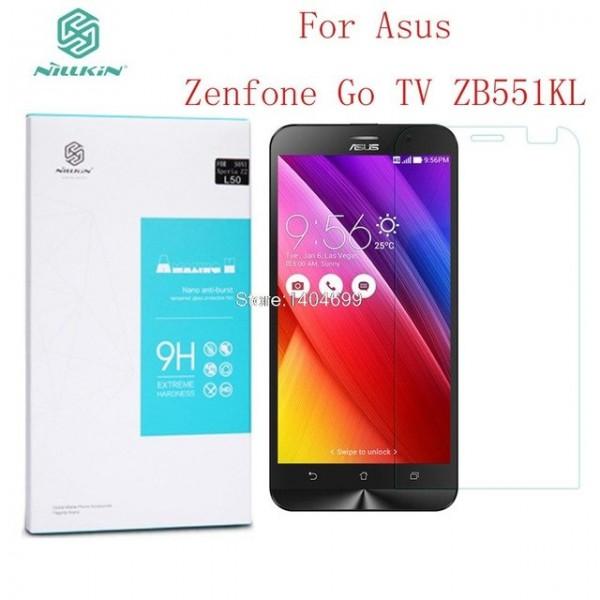 محافظ صفحه نمایش شیشه ای نیلکین ایسوس Nillkin H Glass Asus Zenfone GO TV ZB551KL