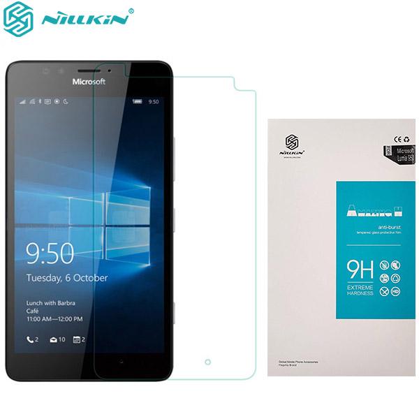 محافظ صفحه نمایش شیشه ای نیلکین مایکروسافت Nillkin H Glass Microsoft Lumia 950