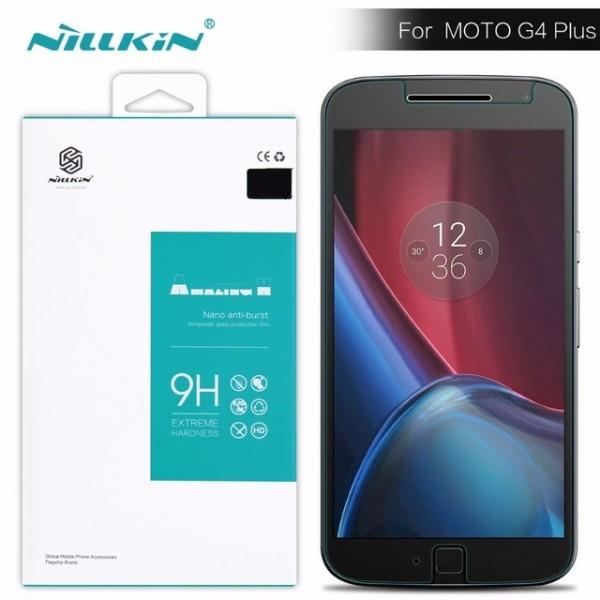 محافظ صفحه نمایش شیشه ای نیلکین موتورولا Nillkin H Glass Motorola Moto G4 Plus