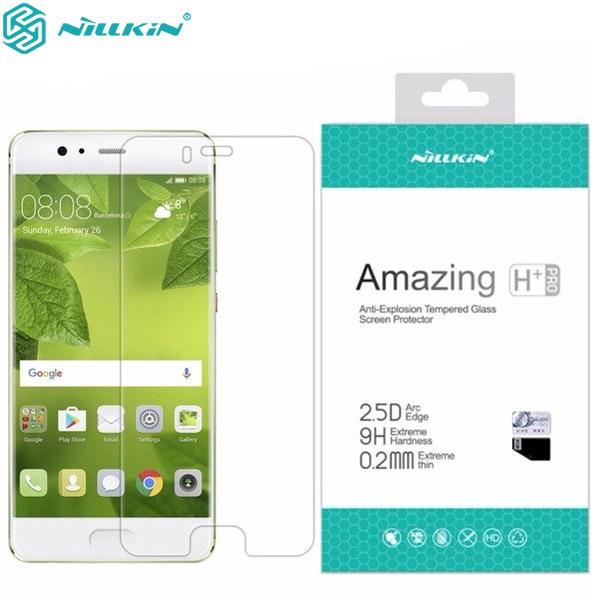 محافظ صفحه نمایش شیشه ای نیلکین H+ Pro Glass Huawei P10