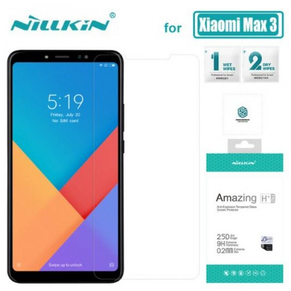 محافظ صفحه نمایش شیشه ای نیلکین H+ Pro Glass Xiaomi Mi Max 3