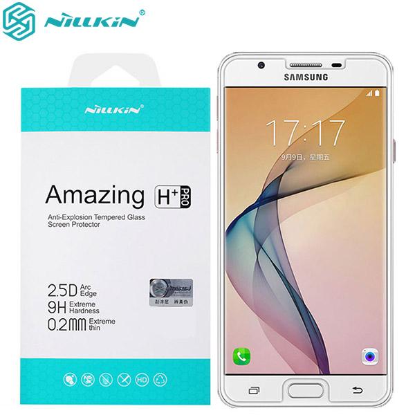 محافظ صفحه نمایش شیشه ای نیلکین H+ Pro Glass Samsung Galaxy J5 Prime / On5 2016