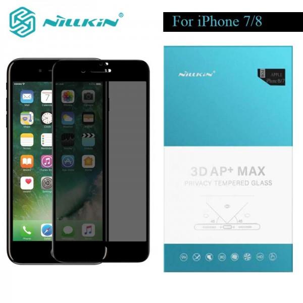 گلس شیشه ای حریم شخصی نیلکین Nillkin Privacy AP+ Max Apple iPhone 7 / iPhone 8
