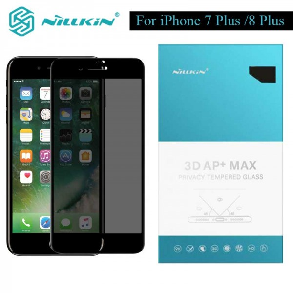 گلس شیشه ای حریم شخصی نیلکین Nillkin Privacy AP+ Max Apple iPhone 7 Plus / iPhone 8 Plus