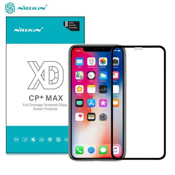 محافظ صفحه نمایش شیشه ای تمام صفحه نیلکین XD CP+ Max Apple iPhone X / XS