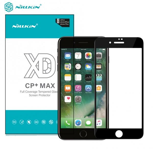 محافظ صفحه نمایش شیشه ای تمام صفحه نیلکین XD CP+ Max Apple iPhone 7 Plus / 8 Plus