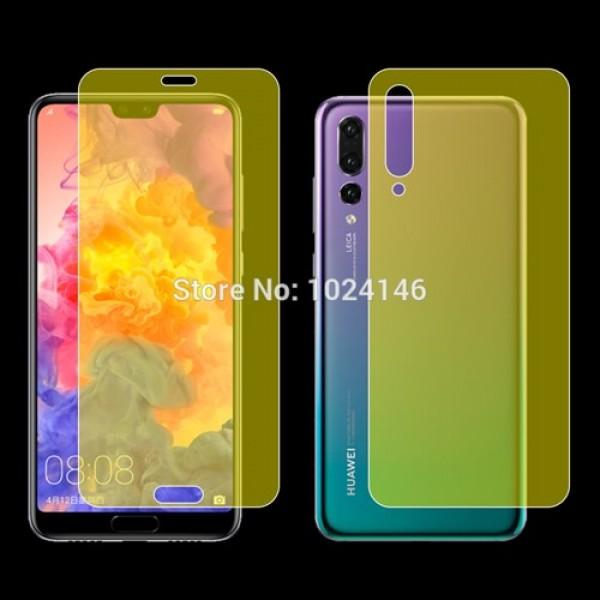 محافظ نانو تمام صفحه پشت و رو مناسب Huawei P20 Pro 2 in 1 Protector