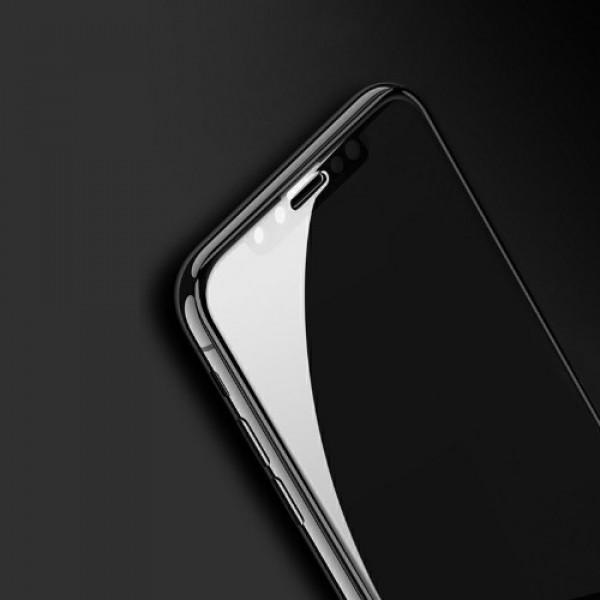 محافظ صفحه شیشه ای تمام صفحه تمام چسب Benovo آیفون Apple iPhone XS Max