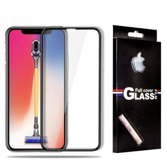 محافظ صفحه شیشه ای تمام صفحه تمام چسب مارک TT آیفون Apple iPhone X / XS