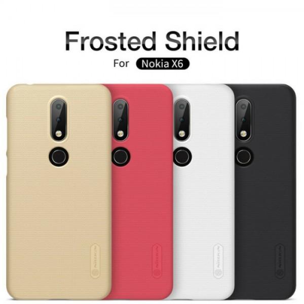 قاب محافظ نیلکین نوکیا Nokia 6.1 Plus / X6 Nillkin Frosted Shield
