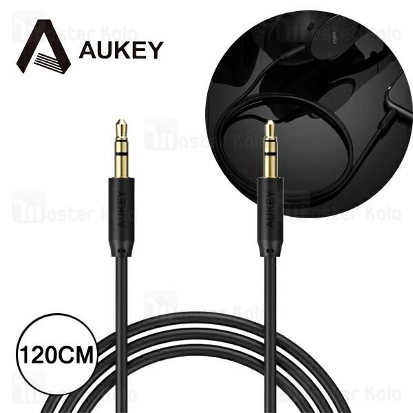 کابل انتقال صدا Aux آکی AUKEY CB-V10 Round طول 1.2 متر
