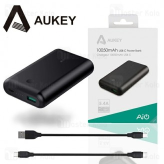 پاوربانک 10050 میلی آمپر آکی AUKEY PB-BY10 10050mah Type-C Power Bank