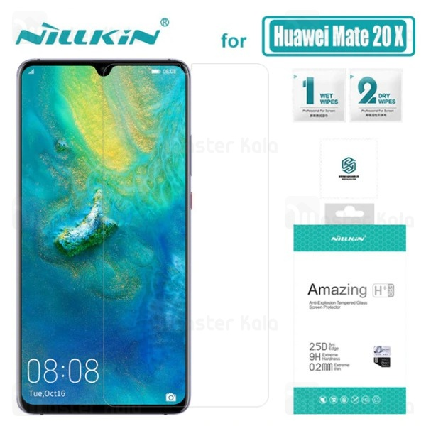 محافظ صفحه نمایش شیشه ای نیلکین هواوی Huawei Mate 20x H+ Pro Glass