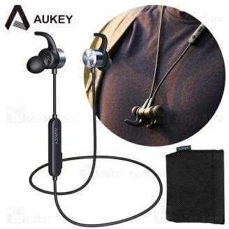 هندزفری بلوتوث آکی AUKEY EP-B44 Bluetooth Headset طراحی مگنتی