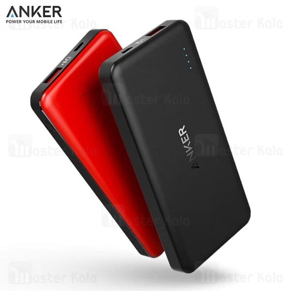 پاوربانک 10000 میلی آمپر انکر  Anker A1261 Powercore II Slim PowerIQ 2.0