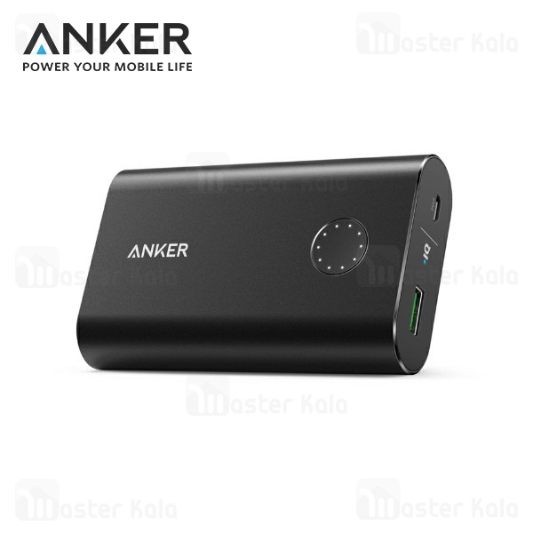 پاوربانک 10050 میلی آمپر انکر Anker A1311 Powercore Plus QC3.0