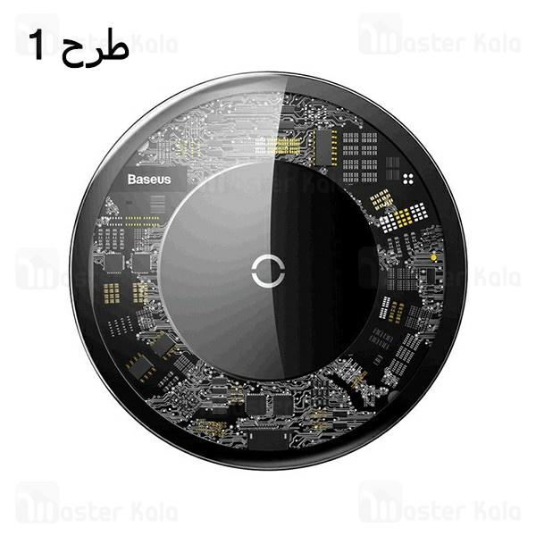 شارژر وایرلس رومیزی بیسوس Baseus Simple Wireless Charger CCALL-JK01