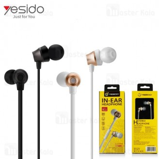 هندزفری سیمی یسیدو Yesido YH-05 IN-Ear Headphone ساختار تو گوشی