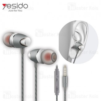 هندزفری سیمی یسیدو Yesido YH07 Earphone ساختار تو گوشی