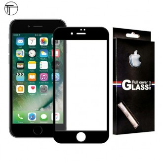محافظ صفحه شیشه ای تمام صفحه تمام چسب مارک TT آیفون Apple iPhone 7 / 8