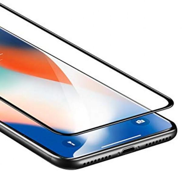 محافظ صفحه شیشه ای تمام صفحه تمام چسب Benovo آیفون Apple iPhone X / XS