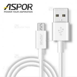 کابل میکرو یو اس بی اسپور Aspor A171 Rapid Cable با توان 2.1 آمپر