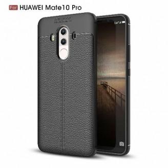 قاب محافظ ژله ای طرح چرم Huawei Mate 10 Pro مدل Auto Focus