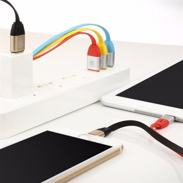 کابل شارژ لایتنینگ بیسوس Baseus Smart Power-Off Lightning Cable