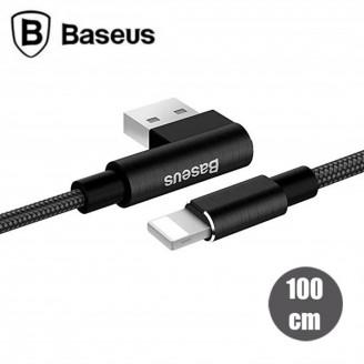 کابل شارژ 1 متری لایتنینگ بیسوس Baseus Yart Elbow Type Cable