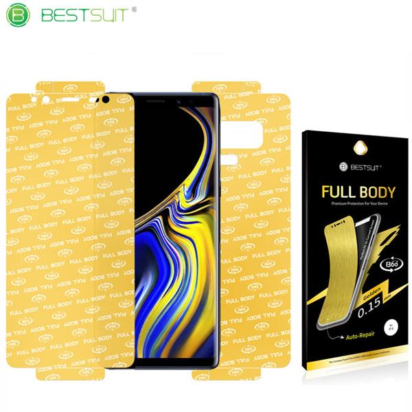 محافظ نانو 360 درجه Golden مارک BestSuit خودترمیم Samsung Galaxy Note 9